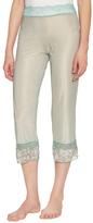 Samantha Chang Multiple Print Lace Waist Pajama Pant