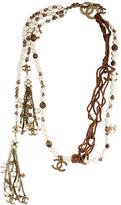 Chanel Multistrand Pearl, Bead & Rope Necklace