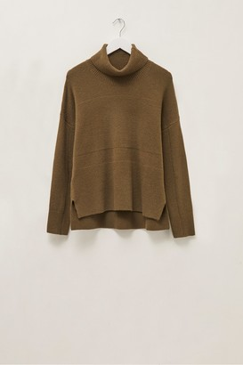 French Connection River Vhari Knits Roll Neck Jumper