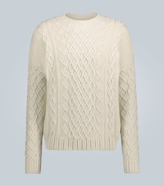 Loewe Chunky cable knit sweater