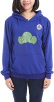 Generic Unisex Candy Color Pullover Hoodie L