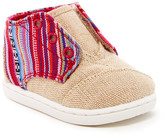Toms Natural Burlap Geo Textile Slip-On Shoe (Baby, Toddler, & Little Kid)