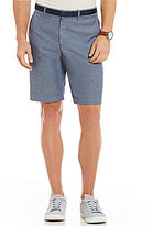 Original Penguin Flat-Front Oxford Shorts
