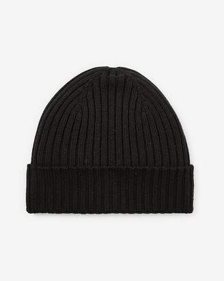 Express Ribbed Knit Turnback Beanie