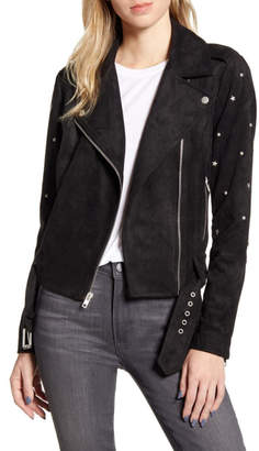 BB Dakota Faux Suede Star Stud Jacket