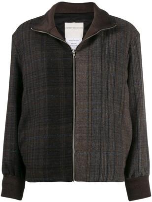 Stephan Schneider Botany check-print jacket