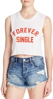 Private Party Forever Single Muscle Crop Tank