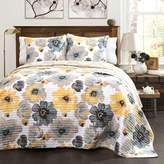 Lush Decor Leah 3-piece Quilt Set