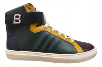 Bally Green Leather Boots