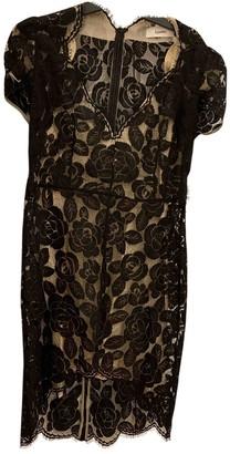 Lover Black Cotton Dress for Women