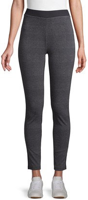 Tommy Hilfiger Heathered Pull-Up Leggings