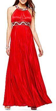 JCPenney Long Embellished Dress