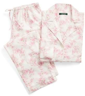 Ralph Lauren Floral Cotton Twill Pyjama Set