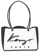 Kenzo KANVAS TOTE BAG Black / White