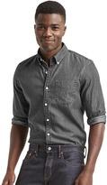 Gap Classic chambray slim fit shirt