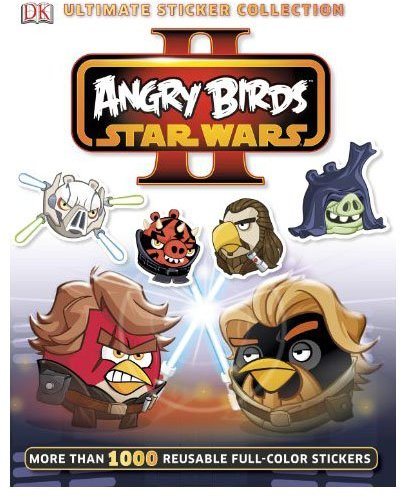 DK Publishing Ultimate Sticker Collection: Angry Birds Star Wars II