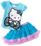 Hello Kitty graphic tee & scooter set - toddler