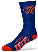 For Bare Feet Adult New York Knicks Team Color Crew Socks