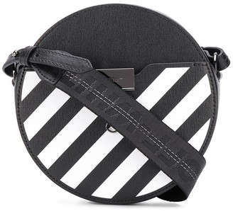 Off-White Diag round-shaped shoulder bag