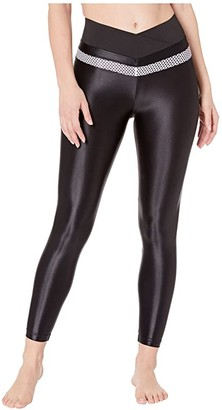 Koral Utility Infinity High-Rise Leggings (Black/Passion) Women's Casual Pants
