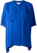 Diane von Furstenberg button up blouse