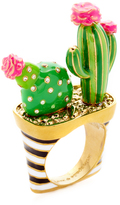 Kate Spade Scenic Route Cactus Ring