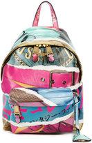 Moschino Magazine print backpack