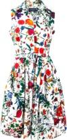 Samantha Sung Claire Garden Shirt Dress