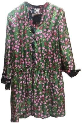 Sandro Green Silk Dresses