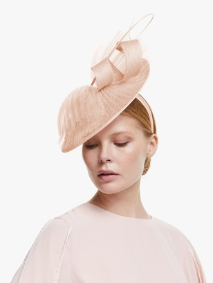 John Lewis & Partners Anya Textured Disc Occasion Hat
