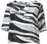 Mini Market Minimarket - 'Suffix' blouse - women - Polyester - 36