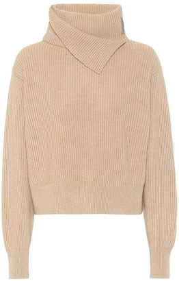 Brunello Cucinelli Ribbed-knit cashmere turtleneck sweater