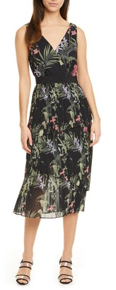 Ted Baker Malinae Highland Pleat Dress