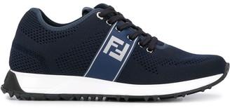 Fendi mesh FF motif sneakers