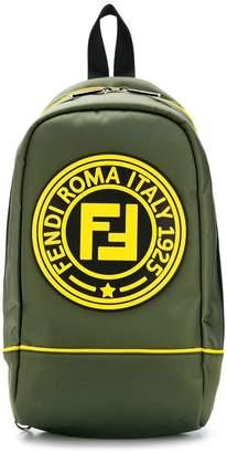 Fendi logo side-bag