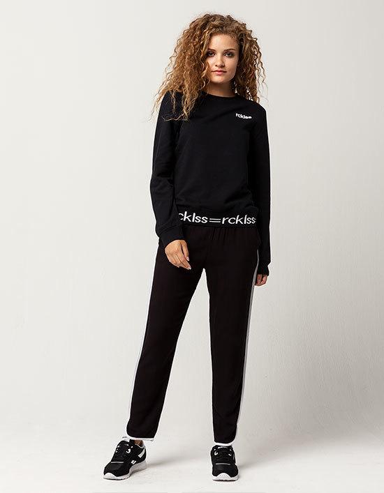 Young & Reckless RCKLSS Womens Crew Sweatshirt