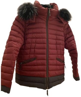 Basler Burgundy Coat for Women