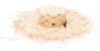 Maison Michel Ursula rafia straw capeline hat