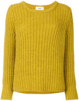 Humanoid ribbed knit jumper