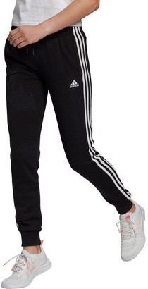 adidas Women's 3 Stripe French Terry Jogger Pants