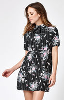 Motel Rocks Metis Floral Print Babydoll Dress