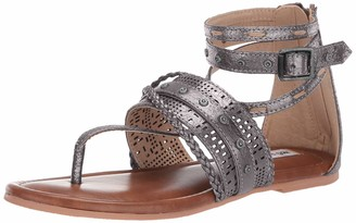 Not Rated Womens Xylia Pewter 6.5 M