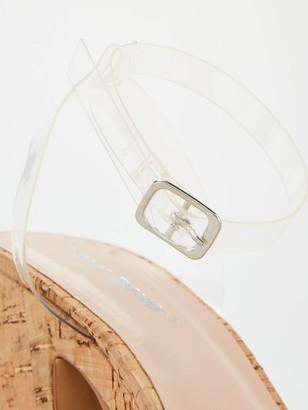 Public Desire Barley Wedge Sandal - Cork
