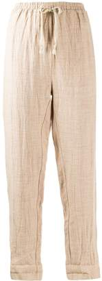 Forte Forte drawstring waist trousers
