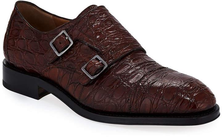 546d57e98 Men Ferragamo Monk Strap Shoe