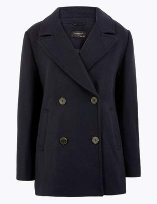 Marks and Spencer Tailored Double Breasted Coat