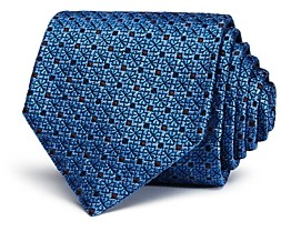 Ermenegildo Zegna Clover & Square Classic Tie