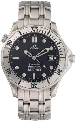 Omega Seamaster 300 Grey Steel Watches