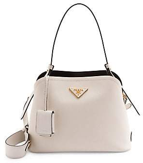 Prada Women's Small Matinee Leather Top Handle Bag