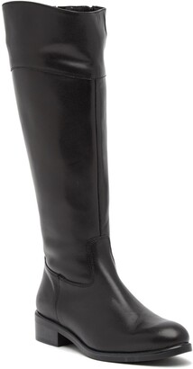 Italian Shoemakers Angelica Leather Knee-High Boot